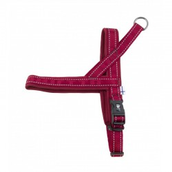 Hurtta Casual Harness Lingon Bordeaux Rood