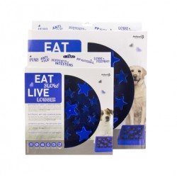Eat Slow Live Longer-STAR-blauw