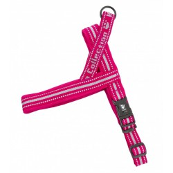 Cherry- Hurtta Padded Harness