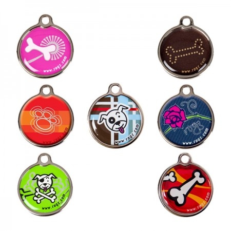 20mm - metal ID-tags - Rogz for Dogs